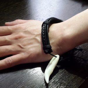 Клык вока-браслет-символ-кулон-амулет-оберег