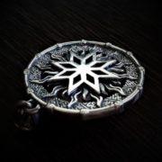 Алатырь-оберег, серебро, значение, фото, Логово волка