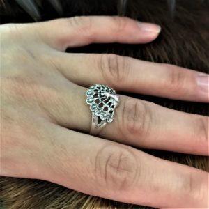 кольцо жар птица-купить кольцо жар птица-значение оберега с жар питицей-перстень жар птица-купить кольцо с птицей-заказать кольцо с жар птицей-серьги с птицей-украшения из серебра с птицами