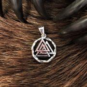 Оберег Валькнут-купить, значение, символ, цена- Логово волка магазин