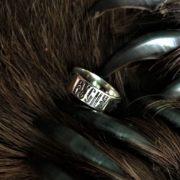 звезда руси-кольцо, серебро,значение, Логово волка