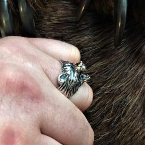велес перстень-велес печатка-велес кольцо-медведь печатка-кольцо медведь-велес обережное кольцо-кольцо оберег