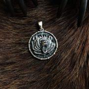 Символ Велеса-медальон Медведь двухсторонний