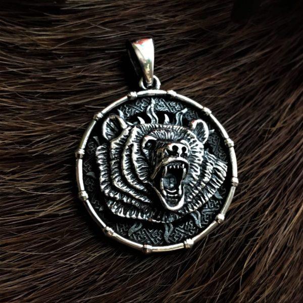 Символ Велеса-медальон-кулон-ЛоговоВолка