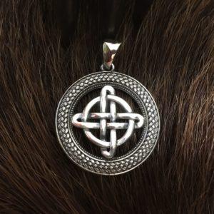 Кельтский четвертной узел,серебро,купить