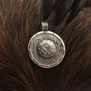 руна одал в серебре
