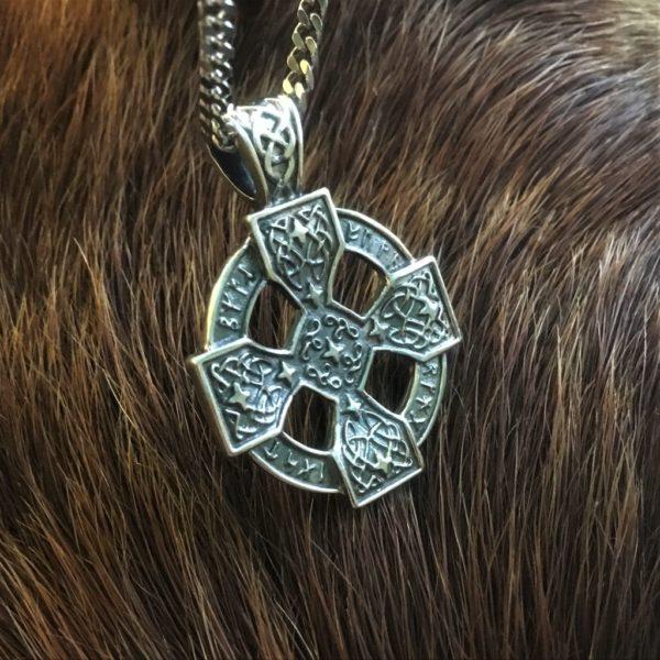 оберег кельтский крест,серебро,цена,значение