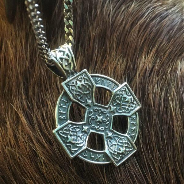 Кельтский крест купить , серебро