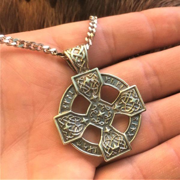 кельтский крест серебро,купить