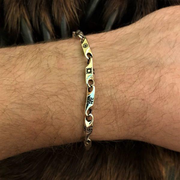 браслет славянский-купить недорого браслет серебро-цена браслета в серебре-браслет серебряный-логово волка магазин-интернет магазин логово волка