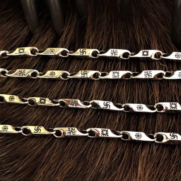 Славянские символы браслет-купить, молвинец, колохорт, одолень трава, перунов цвет, символ рода