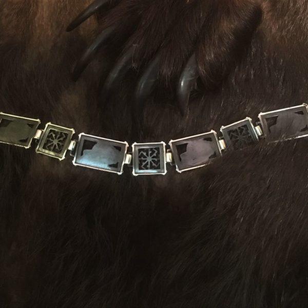 браслет обережный серебро
