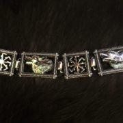 обережный браслет серебро
