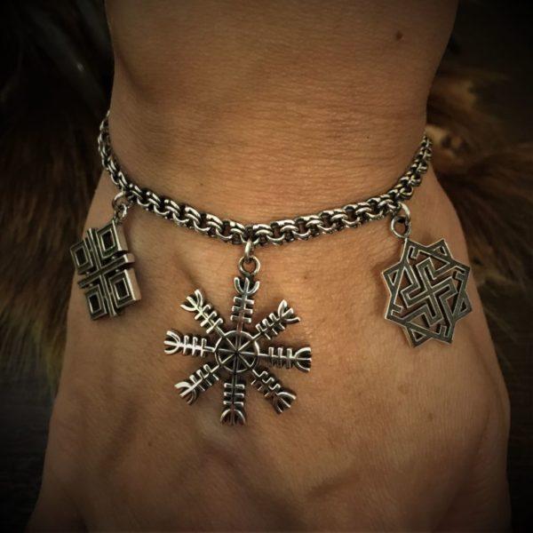 женский браслет славянский