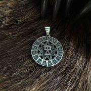 Чертог девы-серебро-значение-описание-цена-Логово волка