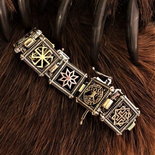 браслет обережный-славянские обереги браслет