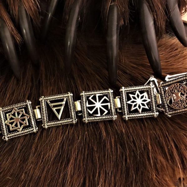 славянские браслеты-серебро браслет-мужской брасле-купить мужской браслет-браслет из серебра-отзывы-значенеие обережного браслета