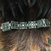 обереги славян-браслет-серебро