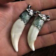 Волчий Клык -серебро, значение, оберег