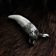 Волчий Клык в оправе из серебра
