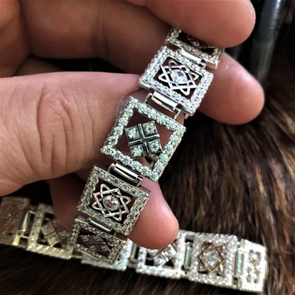 макошь-звезда руси-звезда лады -браслет женский обережный-купить женский обережный браслет-отзывы