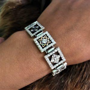 браслет макошь-браслет звезда лады-браслет из серебра-купить оберег-славянские обереги-значение славянских оберегов-отзывы