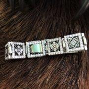 Женский браслет из серебра в россыпи камней. Красивые женские браслеты. Отзывы.