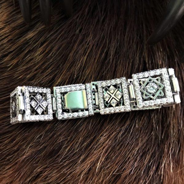 браслеты славянские-купить оберег-женские браслеты-серебро -браслет с оберегами