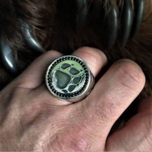Печатка-печать велеса-лапа волка-лапа волка купить - перстень волк-кольцо волк-кольцо волк-отзывы-славянские обереги-мужские печатки-купить перстень волк-лапа волка кольцо-символ велеса перстень-мужские перстни-мужские перстни фото-цена серебро-купить славянские обереги