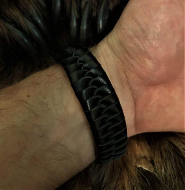 плетение косичка-плетение кобра-схема плетения кобра-купить плетёный браслет-плетёный браслет из кожи-купить плетёный браслет из кожи-отзыв