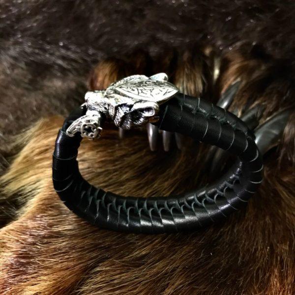 браслет кожаный купить-браслет кожаный-браслет из кожи-плетёная кожа-как плести кожу-символ велеса